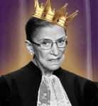 U.S. Supreme Court Justice Ruth Bader Ginsburg poses for an official photograph with the other Justices at the Supreme Court in Washington